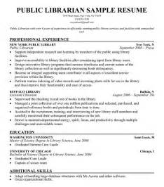 resume for librarian librarian sle resume experience resumes