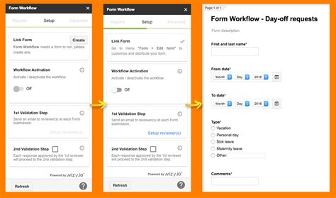 validate  workflow  google forms wizyio blog