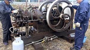 Old Engines In Japan 1890s  National Gas Engine 13hp  U3044 U306b U3057 U3048 U306e