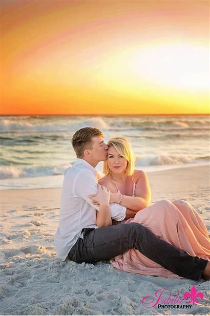 Beach Sunset Rickman Session Destin Photographer Fun