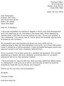 resume and cover letter for internship internship cover letter exles