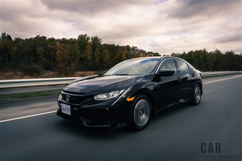 Review Honda Civic Hatchback by Review 2017 Honda Civic Hatchback Canadian Auto Review