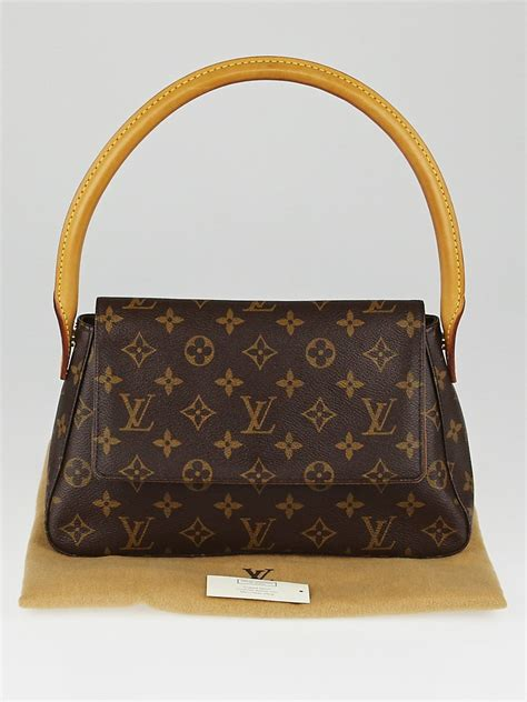 louis vuitton monogram canvas mini looping bag yoogis