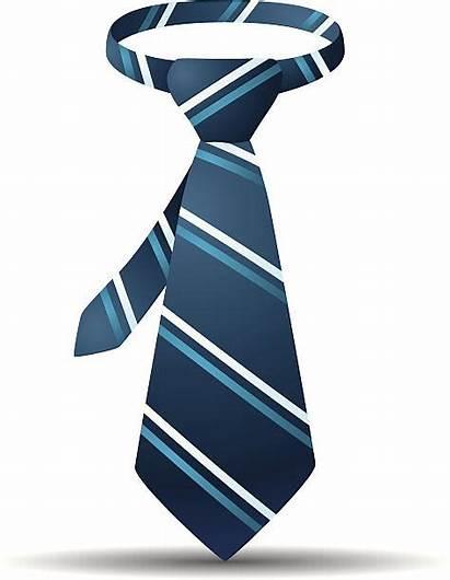Necktie Vector Tie Clip Stripe Illustrations Istockphoto