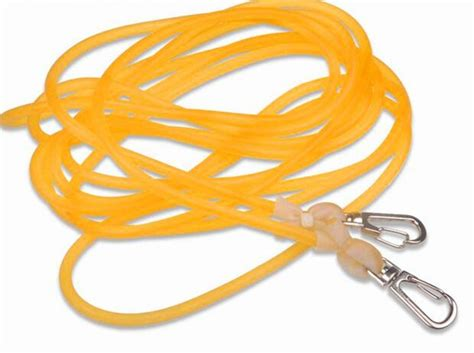 elastic solid rubber band rope missed pole retaining