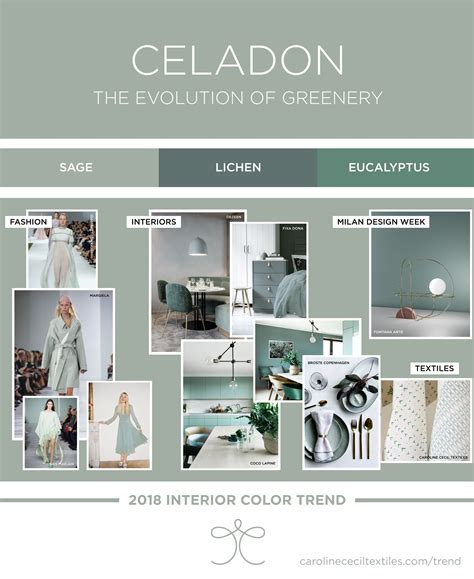 interior design trends 2018 top interior color trends 2018 ss18 aw18 greenery
