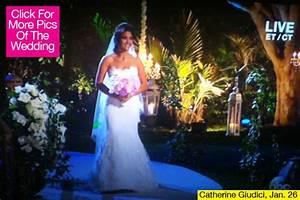 catherine giudici wedding dress sean lowes bride stuns With catherine lowe wedding dress