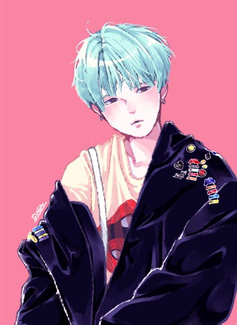 See more ideas about blackpink and bts, blackpink, kpop couples. BTS Suga Anime Wallpapers - Wallpaper Cave