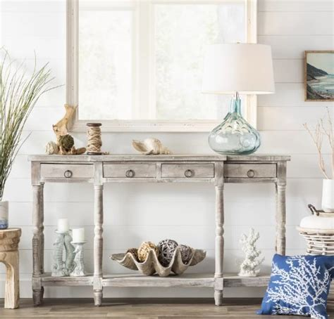 Style Entry Table Like Pro by Styling A Console Table With Coastal Decor Like A Pro