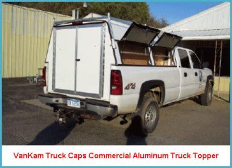 topper canap vankam truck caps made commercial aluminum truck