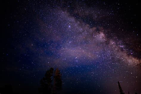 Wallpaper Night Nature Sky Stars Milky Way Nebula