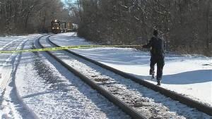 Fatal train accident involves pedestrian - YouTube