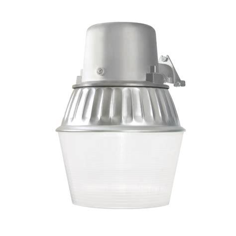 shop utilitech 65 watt silver fluorescent dusk to