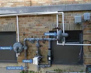 Natural Gas Meters And Regulators