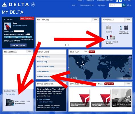 Restaurants made in the first 3 months. Rookie Wednesday: The importance of updating ALL your info at Delta.com - Delta PointsDelta Points
