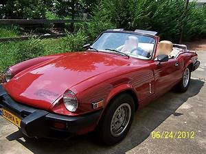 Find Used 1980 Triumph Spitfire Convertable With Hard Top