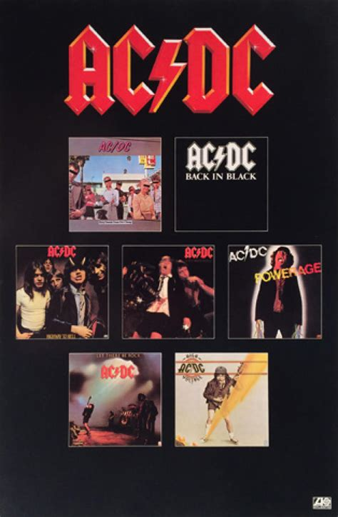 AC/DC Vintage Concert Poster, 1980 at Wolfgang's