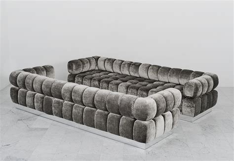 silver tufted sofa furniture ethan allen sofa legs black set tribeca thesofa