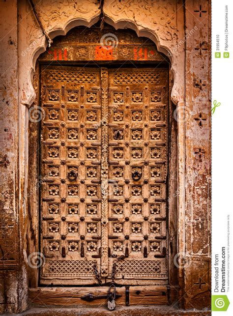 Wooden Old Door Vintage Background Stock Photo   Image