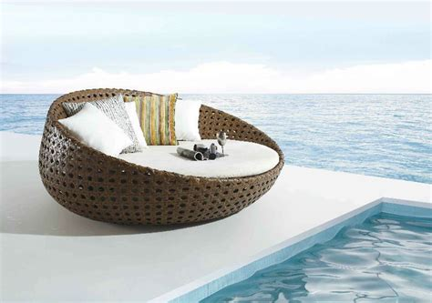 runde garten lounge sunbed outdoor sun lounge chaise lounge