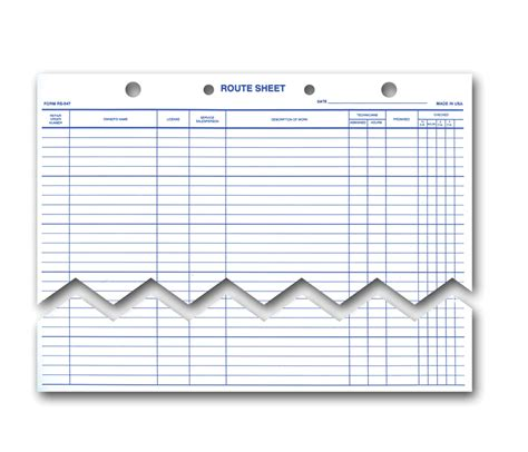 buy route sheets extra heavy  lb white paper stock