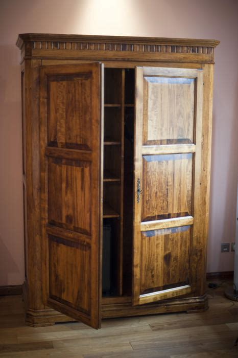 Wooden Wardrobe With Shelves by Free Stock Photo 8931 Rustic Wooden Wardrobe Or Armoire