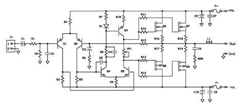 f audio power lifier core circuit platform based on