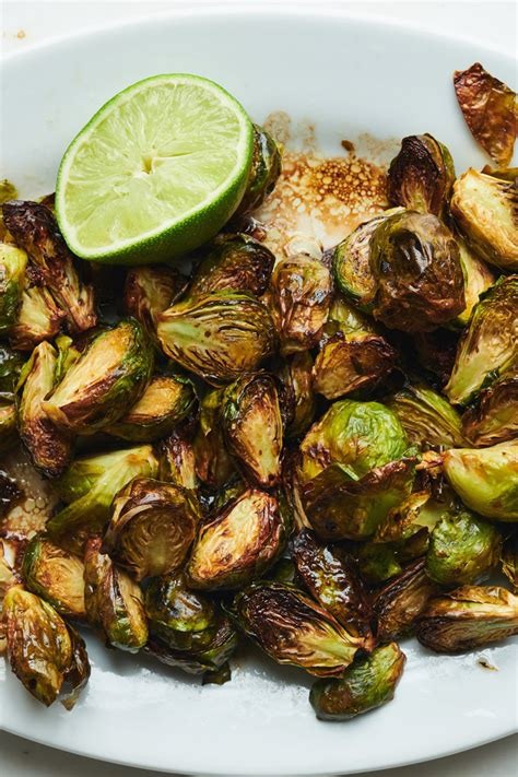 sprouts air fryer brussels garlic balsamic soy recipe recipes cooking nyt nytimes roasted