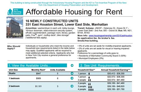 letter table rental nyc everything you need to know about affordable housing