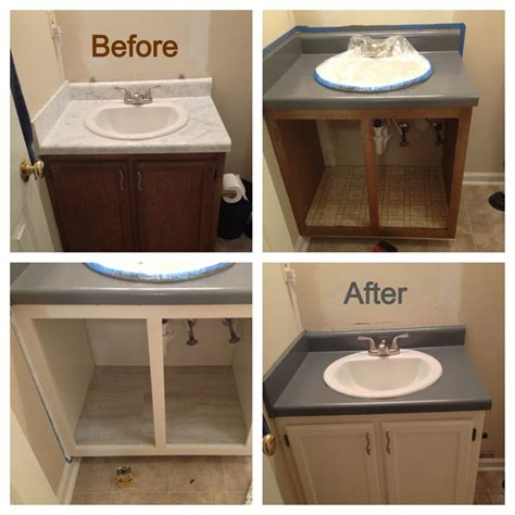 how to paint tile kitchen countertops bathroom renovation on a mega budget i used rustoleum 8819