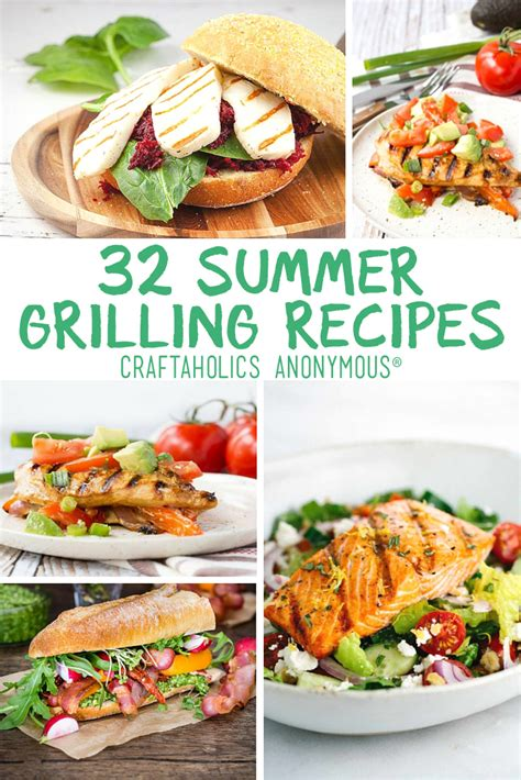 summer grill dinner ideas craftaholics anonymous 174 summer grilling recipes