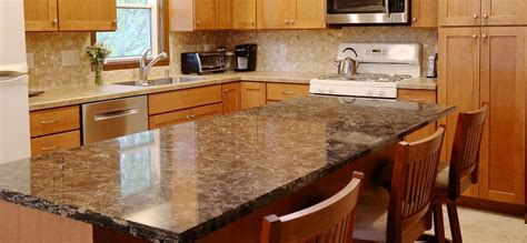 synthetic countertop materials 4 countertop materials for kitchen remodeling projects