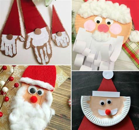 basteln zu nikolaus im kindergarten nikolaus basteln mit kindern einfache weihnachtsbasteleien mit anleitung weihnachten kiga