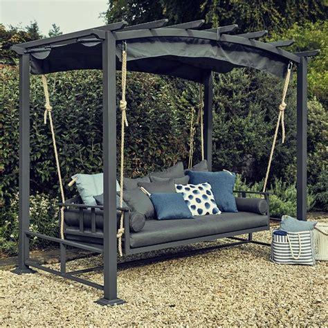 garden swing seat atlanta day bed metal garden furniture swing seat