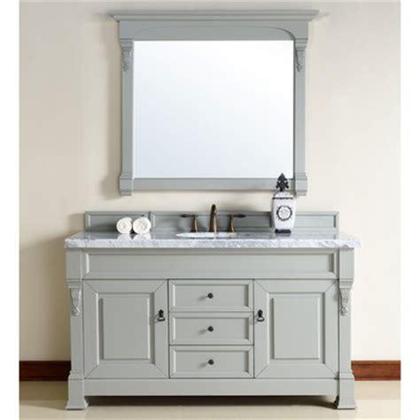 60 Inch Bathroom Vanity Single Sink Black by Brookfield 60 Quot Traditional Single Sink Bathroom Vanity In