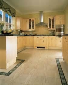 kitchen floor designs ideas kitchens flooring idea sd14 sedimentary sandstone light with b29b medici border by amtico