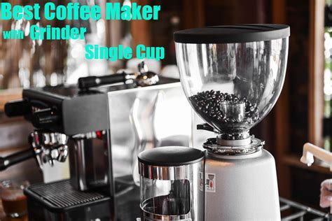 The single cup coffee maker and grinder models have a small capacity so the price is cheaper. Best Coffee Maker With Grinder Single Cup 2020 - BessoKitchen - Besso Kitchen