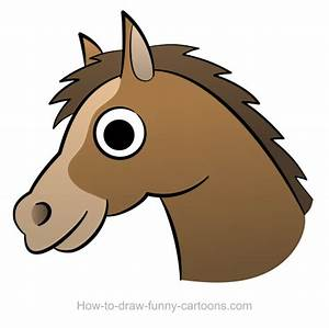 Horse head drawing (Sketching + vector)