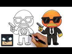 Badjassen met borduring 1 werkdag langer. how to draw fortnite characters - YouTube   Tekenen, Strip, Fortnite