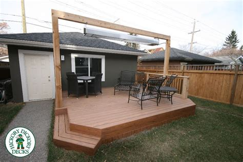 stand alone garage this is a stand alone deck built the garage in calgary