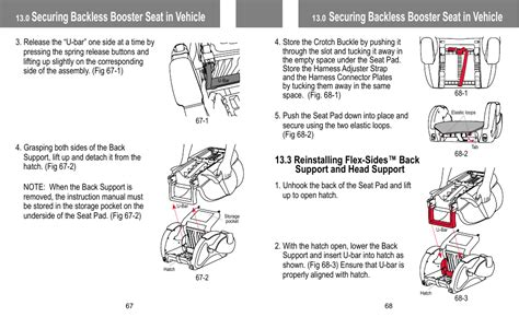 Securing Backless Booster Seat In Vehicle Babytrend