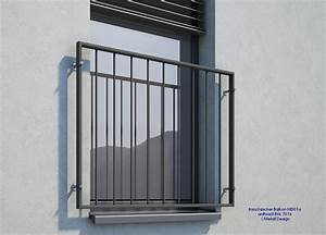 franzosischer balkon md01ap pulverbeschichtet anthrazit With französischer balkon mit sicherungskasten außenbereich garten