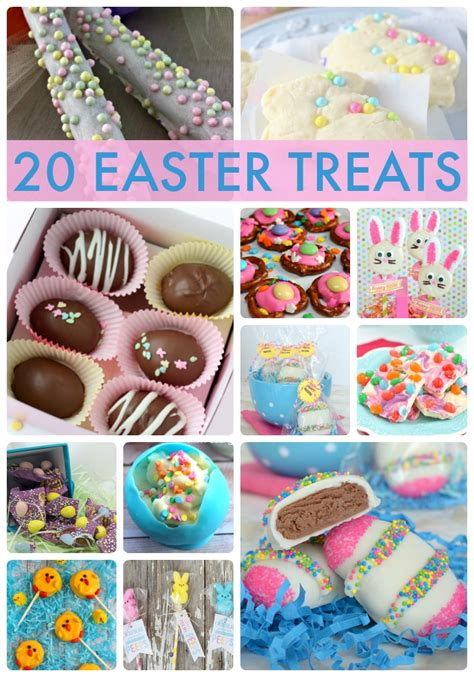 ideas for easter treats great ideas 20 easter treats