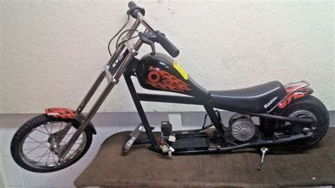 Razor Electric Mini Chopper Motorcycle Bike Scooter Harley