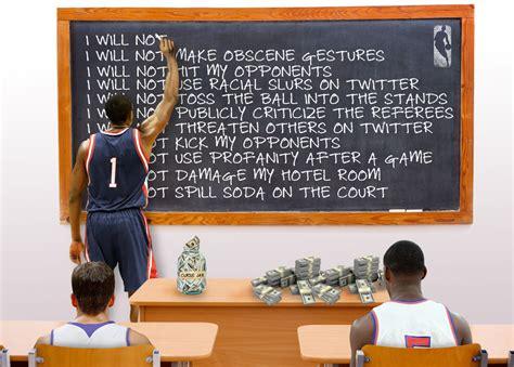 nba players  paying   rules   york times
