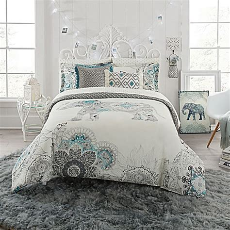 anthology bedding anthology kiran reversible comforter set bed bath beyond