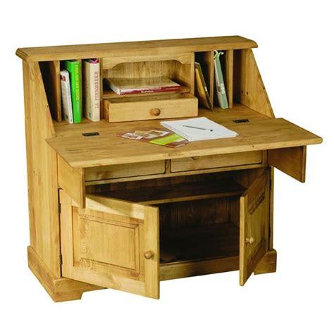 bureau rustique scriban rustique en pin 2 portes et 2 tiroirs achat