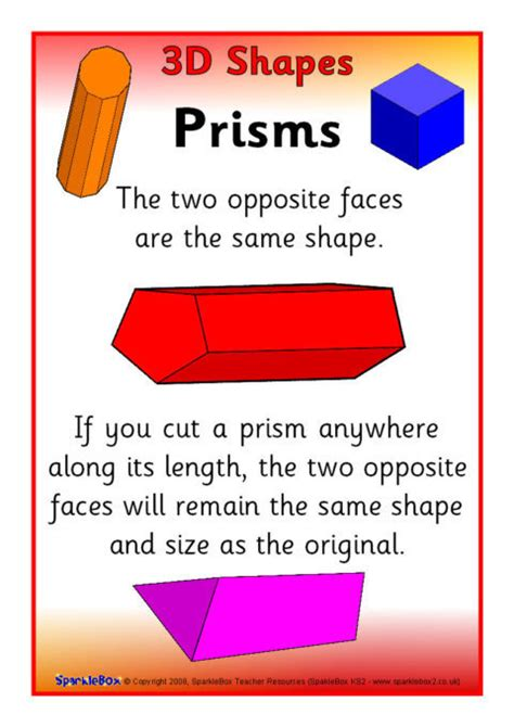 shape information posters