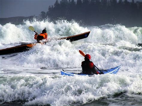 Rough Water skills on your Sea Kayak - ride it baby ...