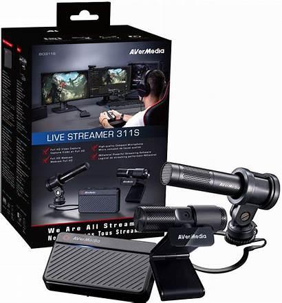 Streamer Avermedia Kit Starter Streaming 311s Pw313